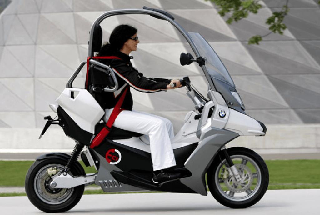 BMW C1 eletrica