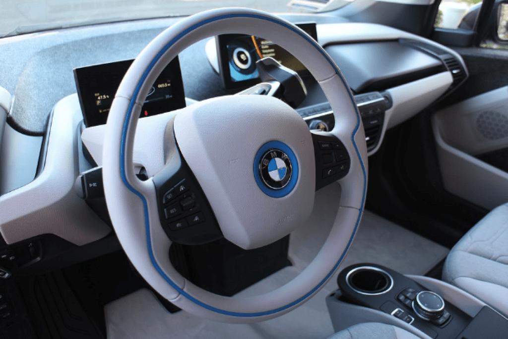 BMW i3 interior