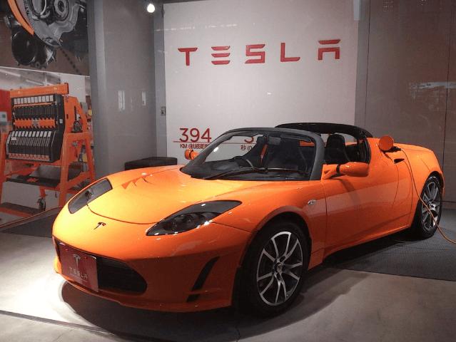 Carro Tesla - Ações Tesla