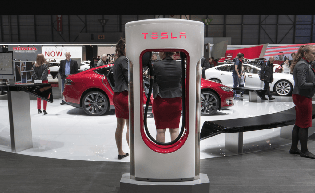 carregador Tesla
