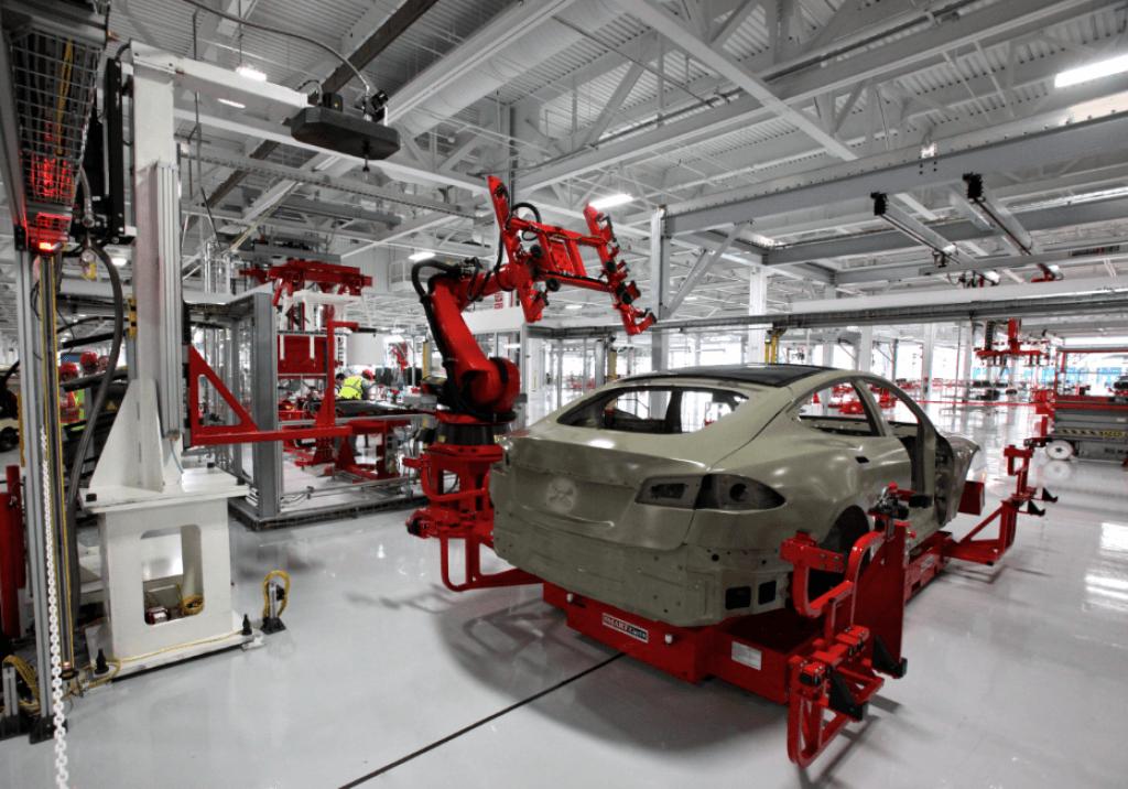 Fabrica Tesla 3