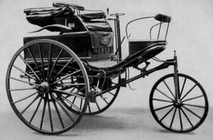 Primeiro carro mercedes