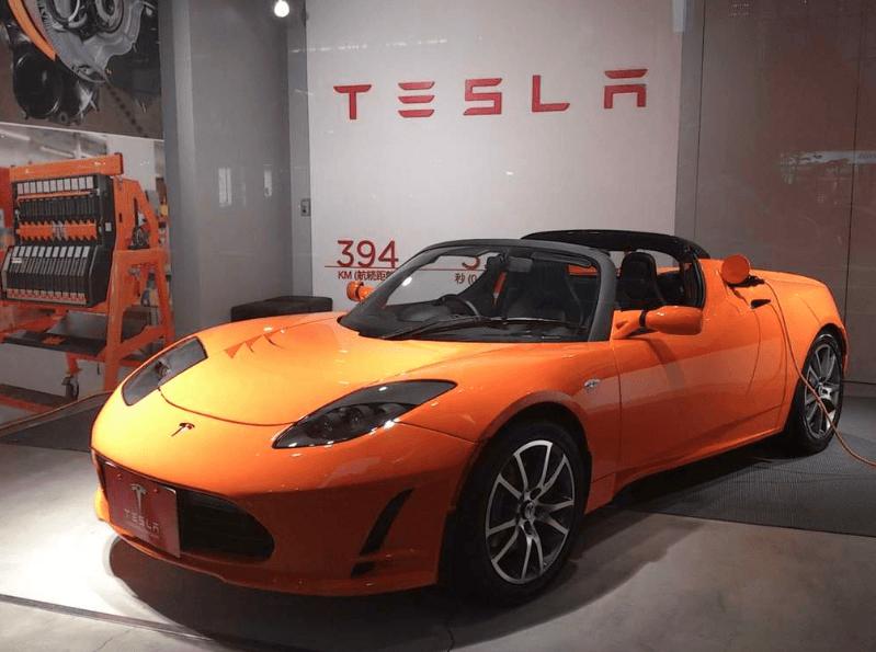 Tesla Roadster primeira geracao
