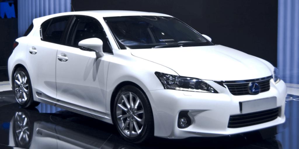 carro híbrido lexus ct 200 h branco