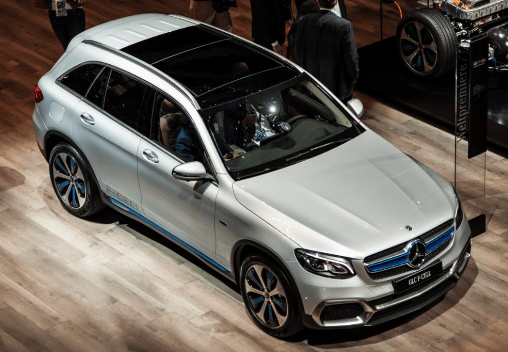 Mercedes Hidrogenio