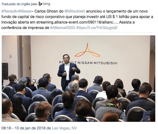 Twitter CEO Aliança