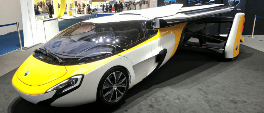 carro voador aeromobil