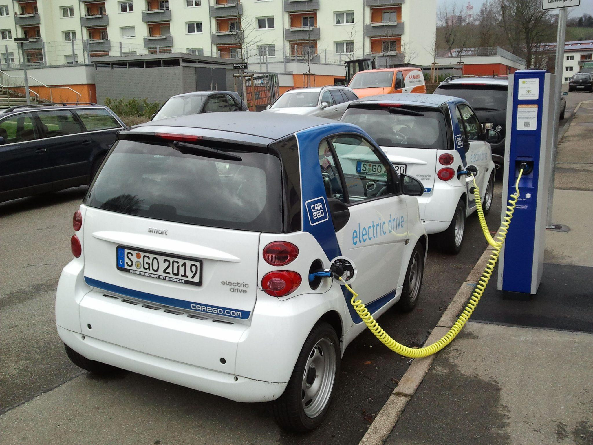 carsharing elétrico