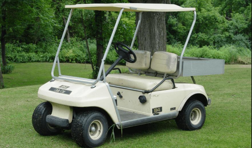 carrinho de golfe imagem destacada