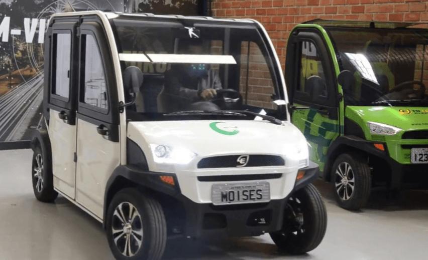 carro elétrico comprar no Brasil hitech e.co tech4