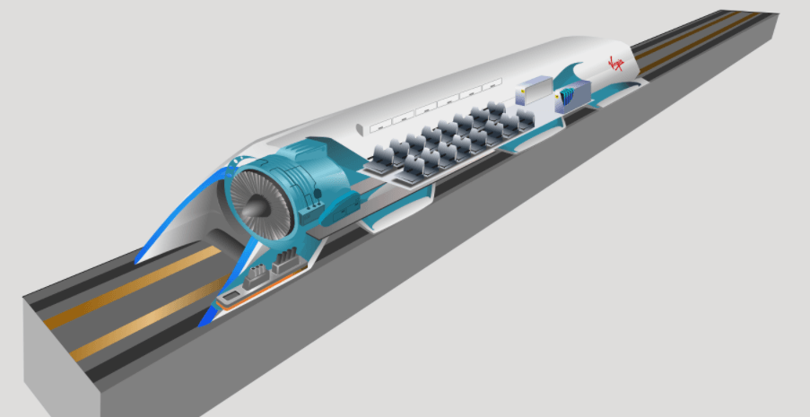 hyperloop por dentro