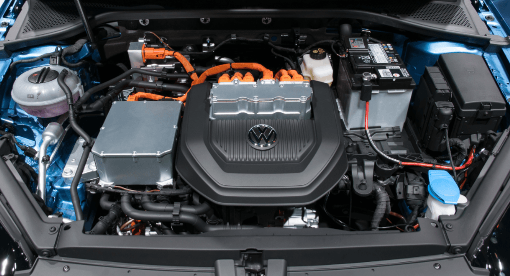 Volkswagen golf elétrico potencia