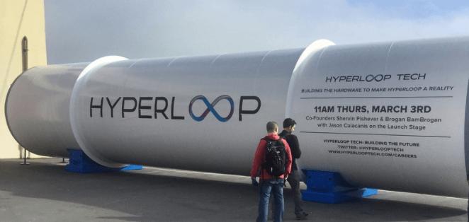 hyperloop one tubo