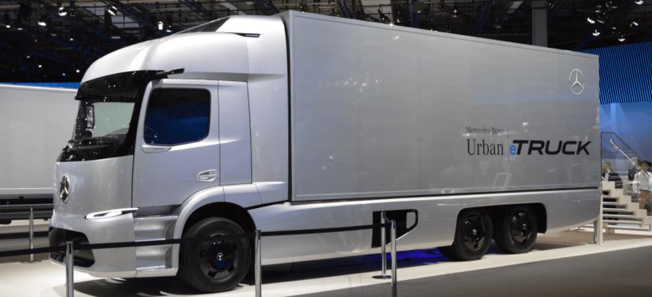 urban e truck caminhão mercedes