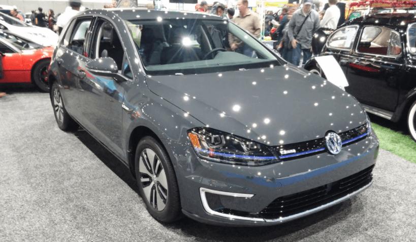 Volkswagen golf elétrico visão geral