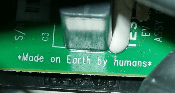 Placa Tesla no espaço