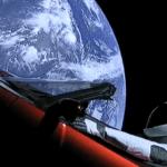 tesla ao espaço Spacex
