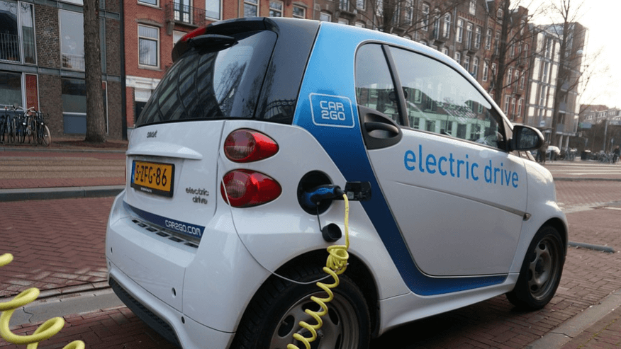 ABVE electric car sustentabilidade