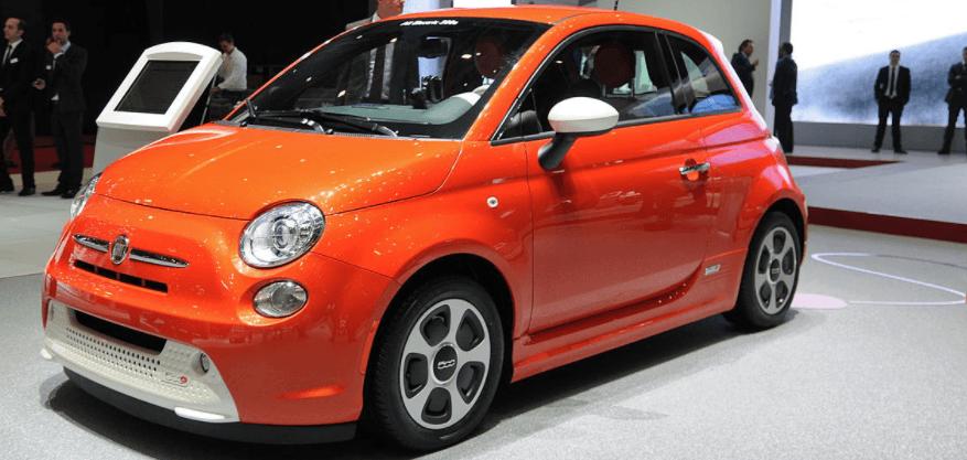 carro elétrico da Fiat 500e