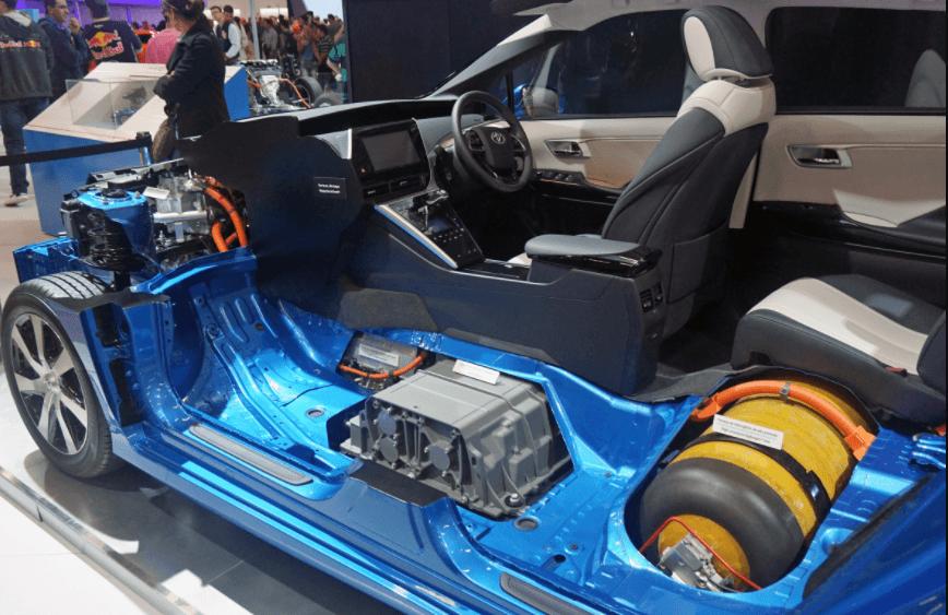 Toyota Mirai funcionamento