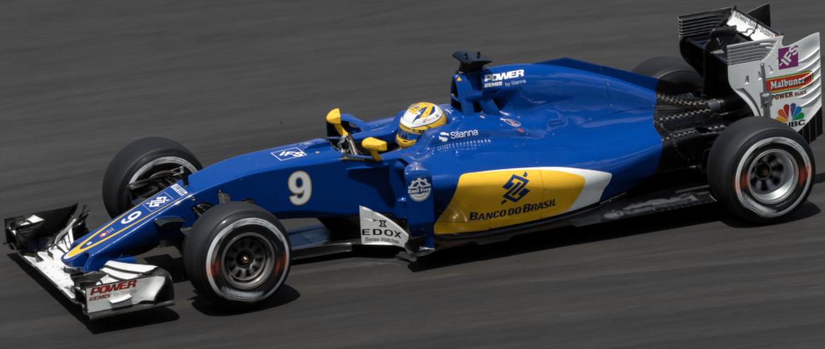 Fórmula 1 carro híbrido
