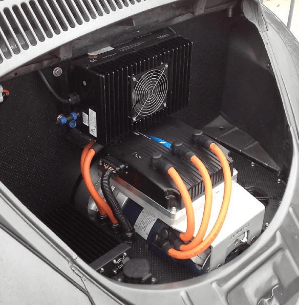 Fusca elétrico EV West Kit