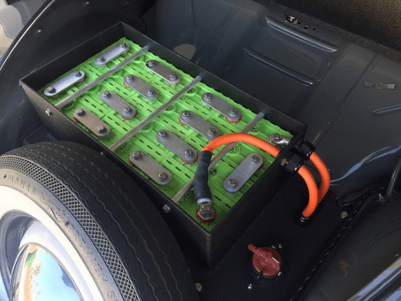 Fusca Zelectric bateria