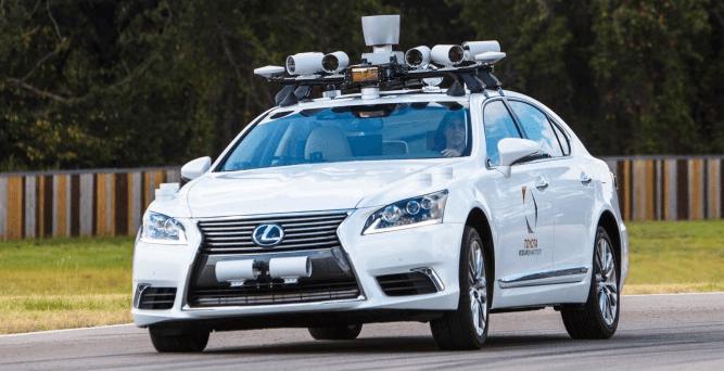 Braço da Toyota para carros autônomos 3
