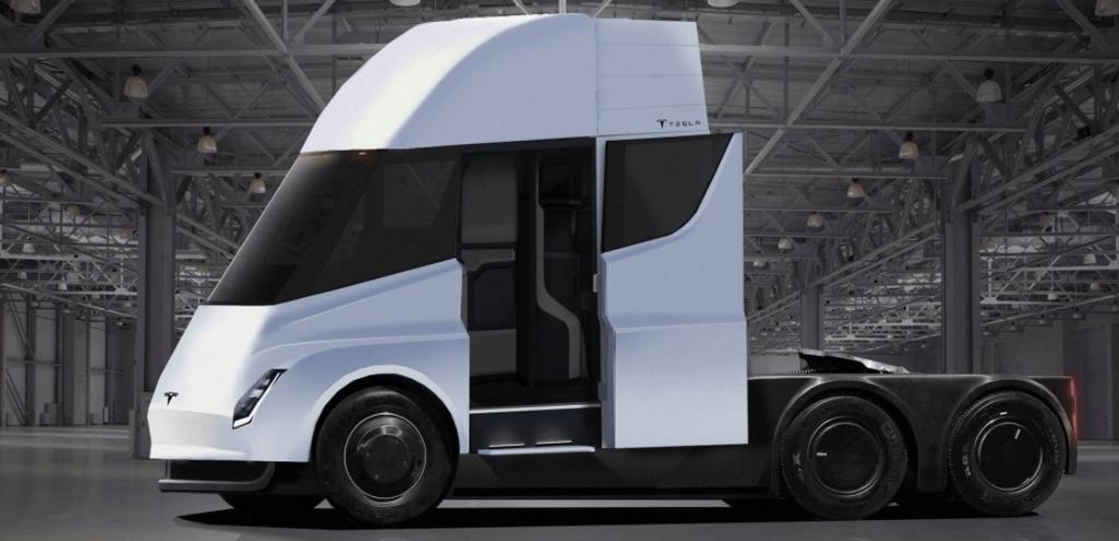 caminhão autonomo Tesla Semi