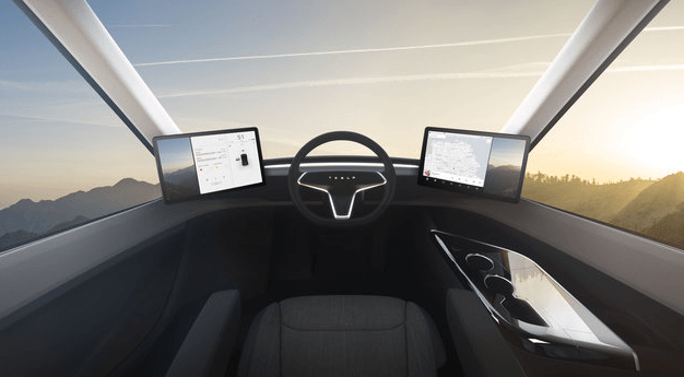 Tesla Semi Interior