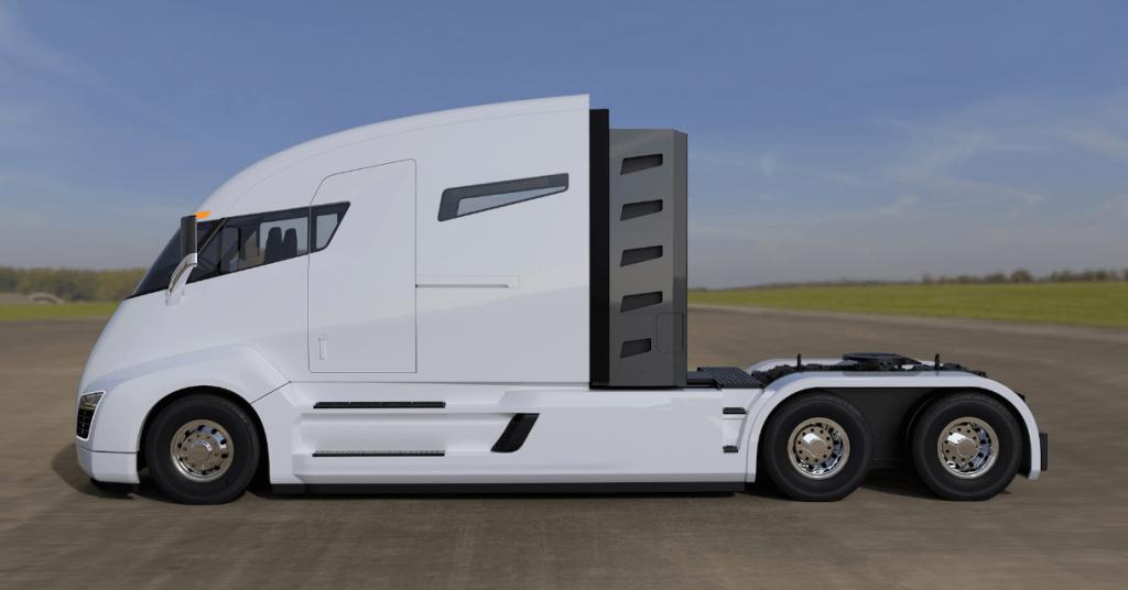 Tesla Semi Perfil