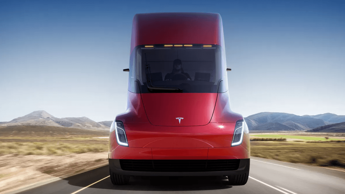 Tesla Semi frente