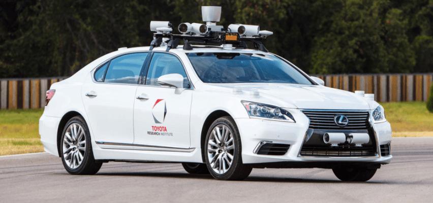 Braço da Toyota para carros autônomos