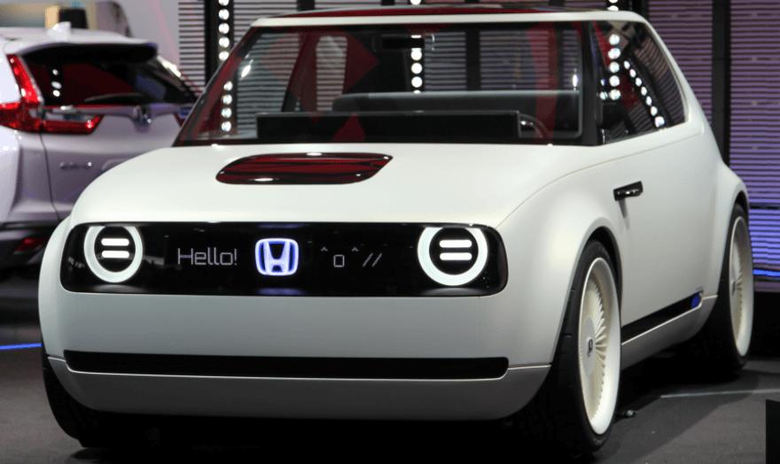 carro elétrico da Honda 1