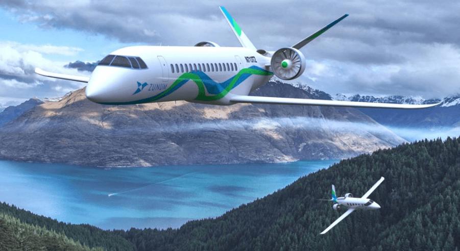 Zunum aviao eletrico