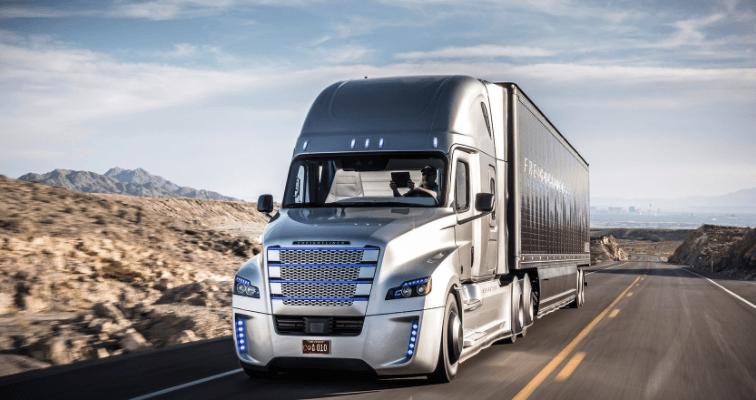 Caminhão autonomo Freightliner