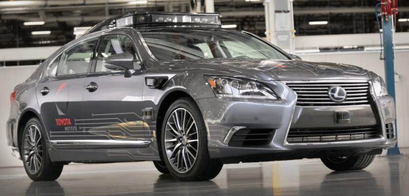 Braço da Toyota para carros autônomos 2