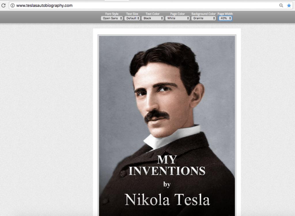 Biografia Online de Tesla