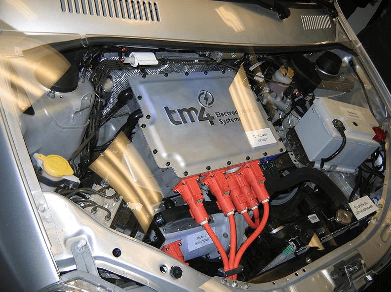 Carro Eletrico motor