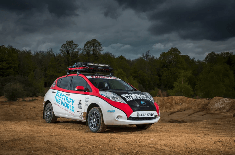 Nissan Leaf Rally 2