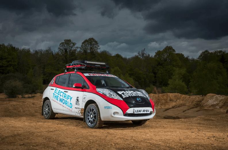 Nissan Leaf Rally 2