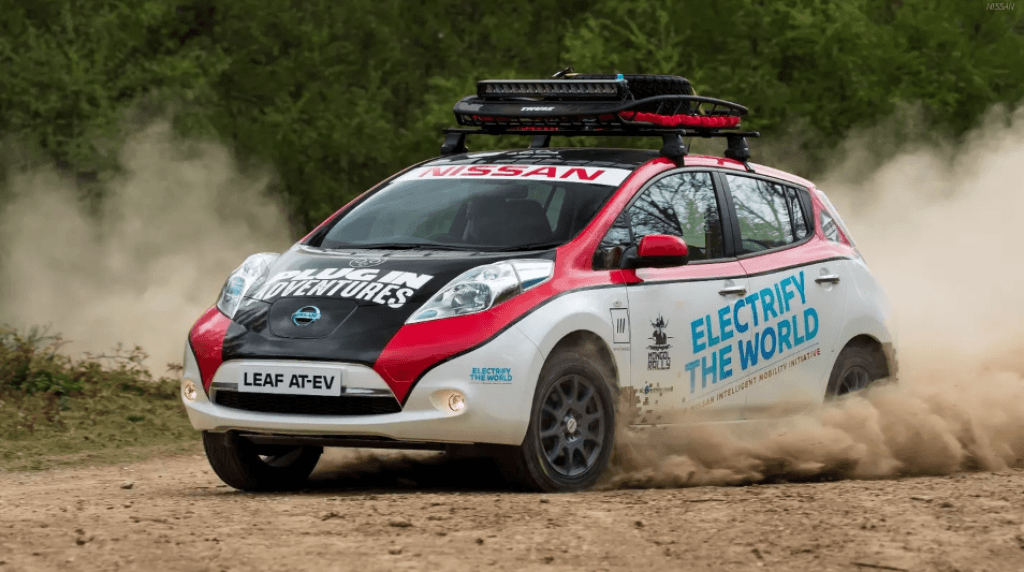 Nissan Leaf Rally 3