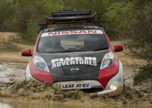 Nissan Leaf Rally