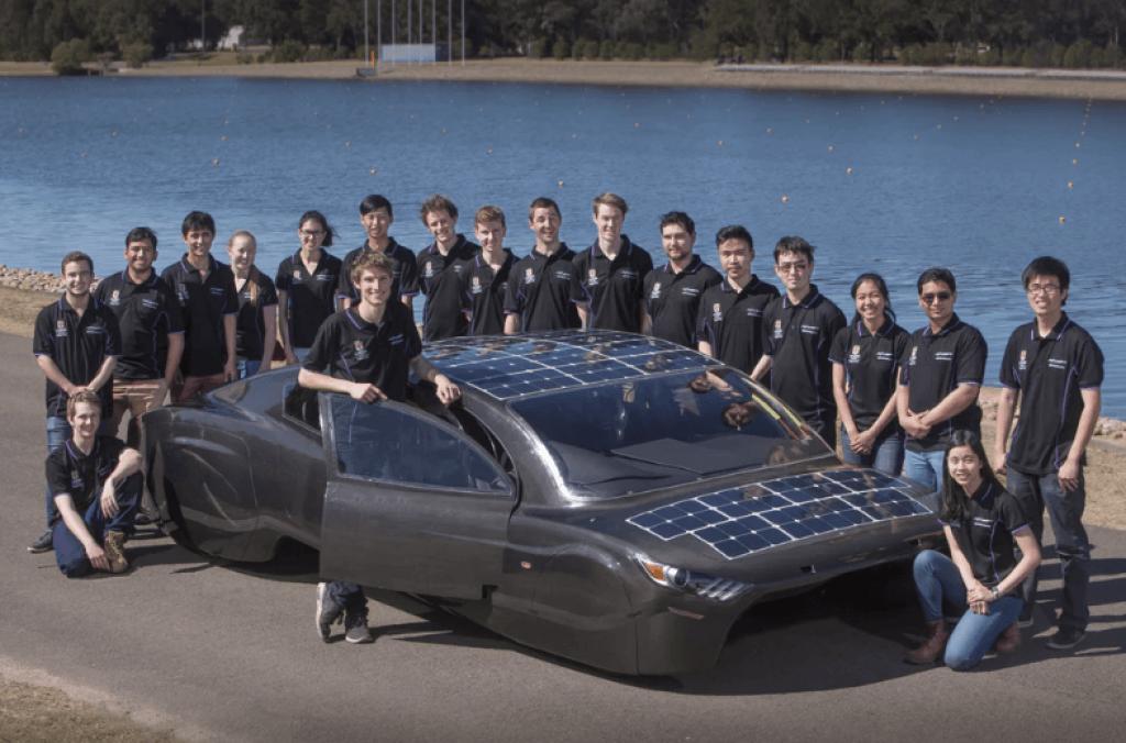 Carro Solar Violet