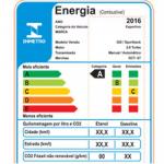 Selo Eficiência Energética carros