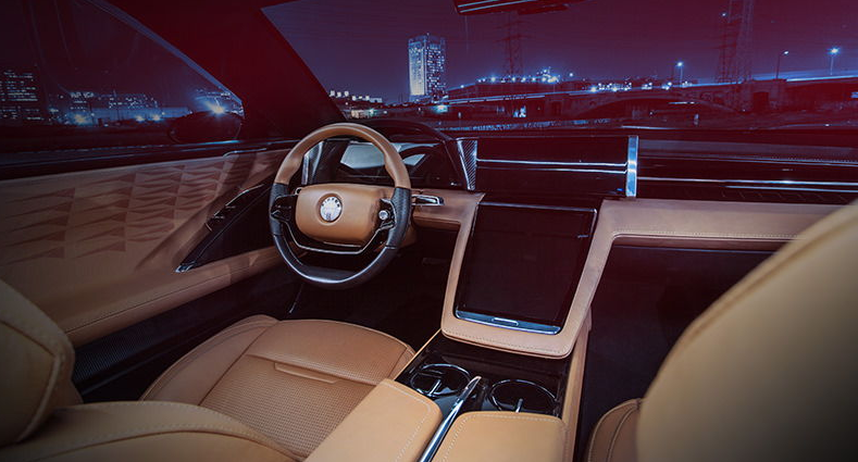 Fisker EMotion interior 1
