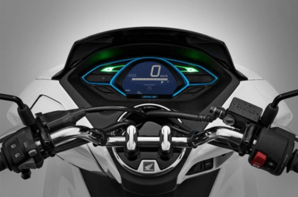 Honda PCX 2018 painel