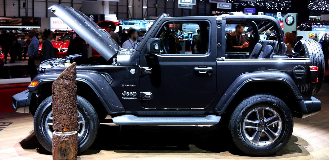 Jeep híbrido Wrangler
