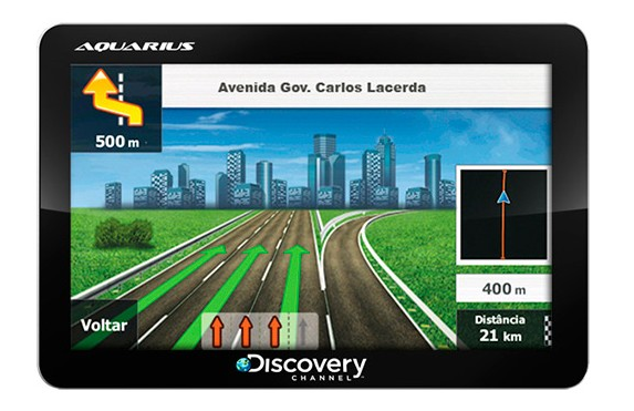 GPS Automotivo Aquarius Discovery