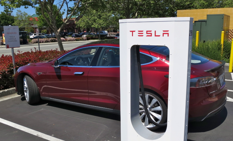 Taxa ociosidade Tesla